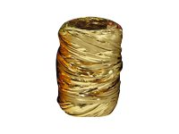 Maildor - Raphia métallisé - ruban d'emballage 20 m - doré