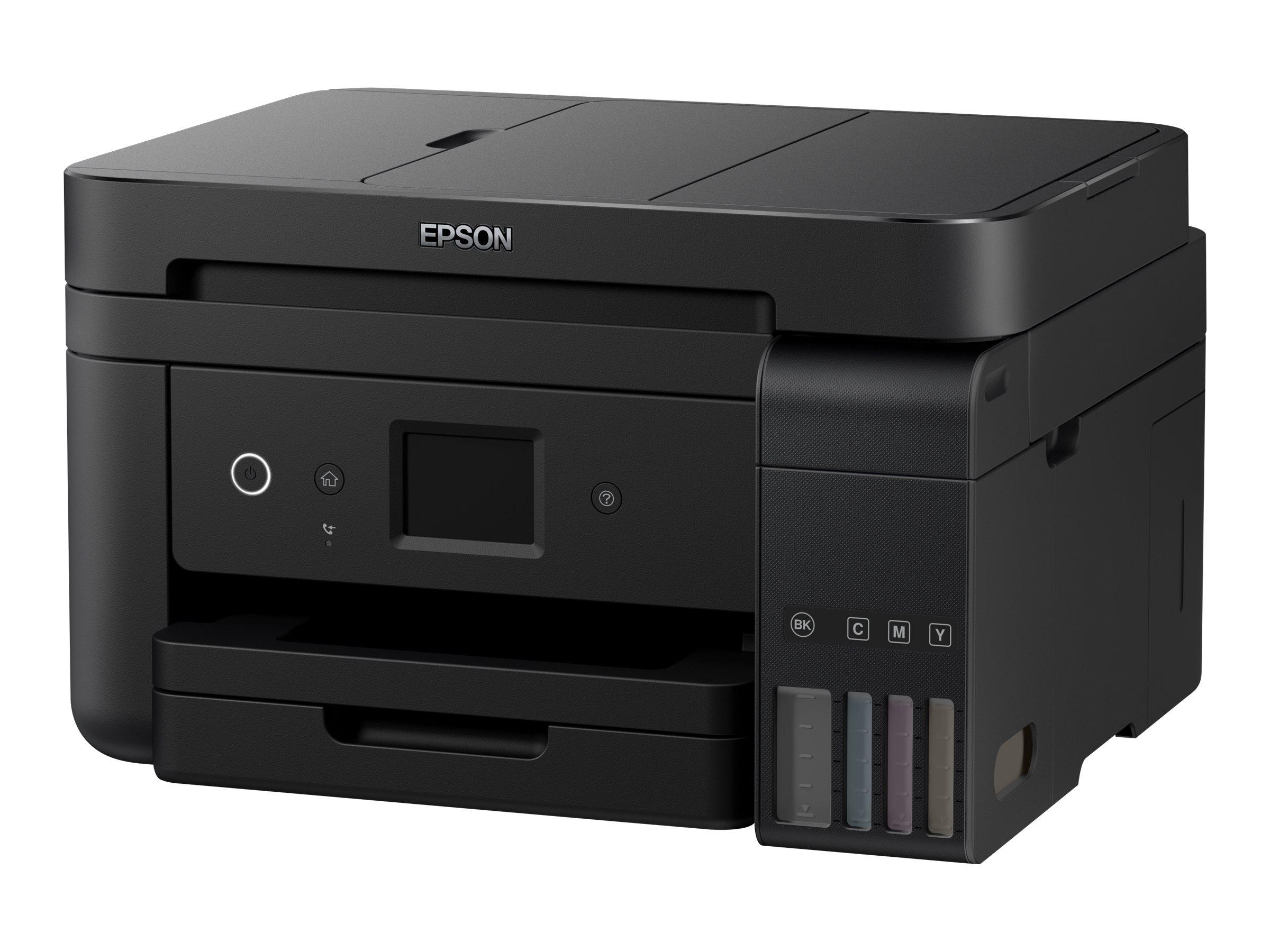 Epson EcoTank ET-4750 - imprimante multifonctions jet d'encre couleur A4 - Wifi, USB - recto-verso