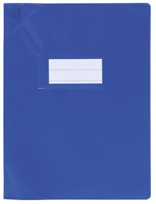 Oxford Strong Line - Protège cahier sans rabat - A4 (21x29,7 cm) - bleu opaque